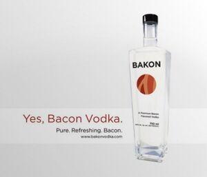 Bakon vodka advert