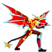 The Mighty Q's Guadian Bakugan - Shadow Dragonoid