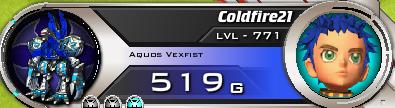 Aquos Vexfist Coldfire