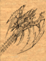 Drow Halberd item artwork BG2.png