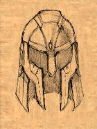Helm of the Rock (no horns) item artwork BG2