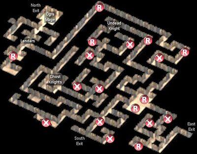Firewine Ruins respawn & traps