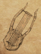 Methild's Harp item artwork BG2