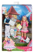 Barbie & Her Sisters in A Pony Tale Max and Marie Dolls Boxed