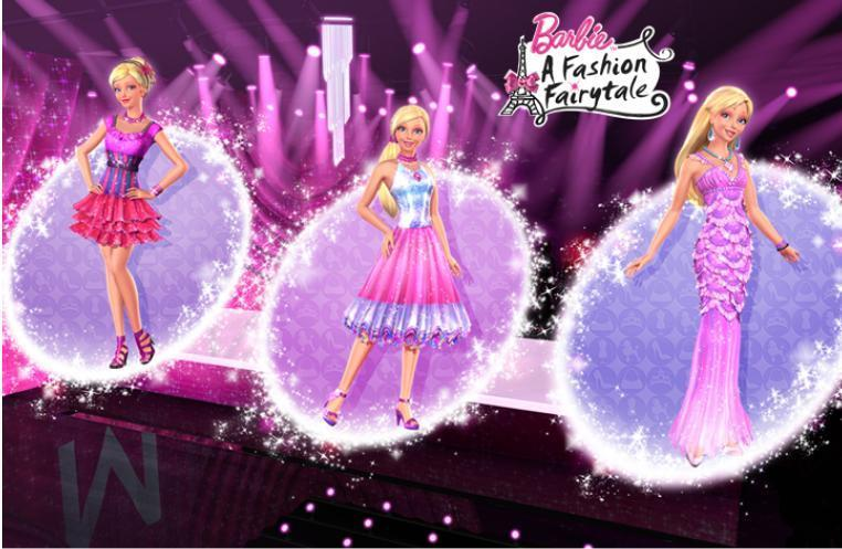Image Barbie A Fashion Fairytale Designs By Marie Alecia Barbie Movies 15010556 762