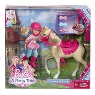 Chelsea and Pony boxed