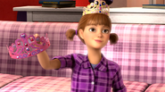 Emily with Blair's crown