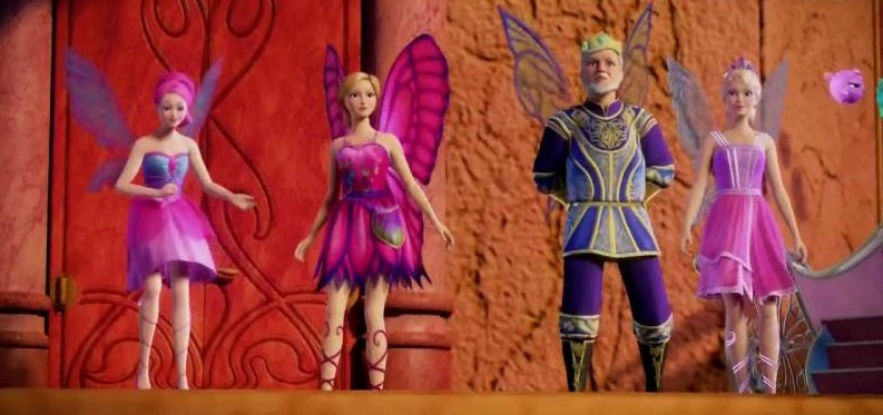 Barbie Mariposa and The Fairy Princess - Trailer - YouTube