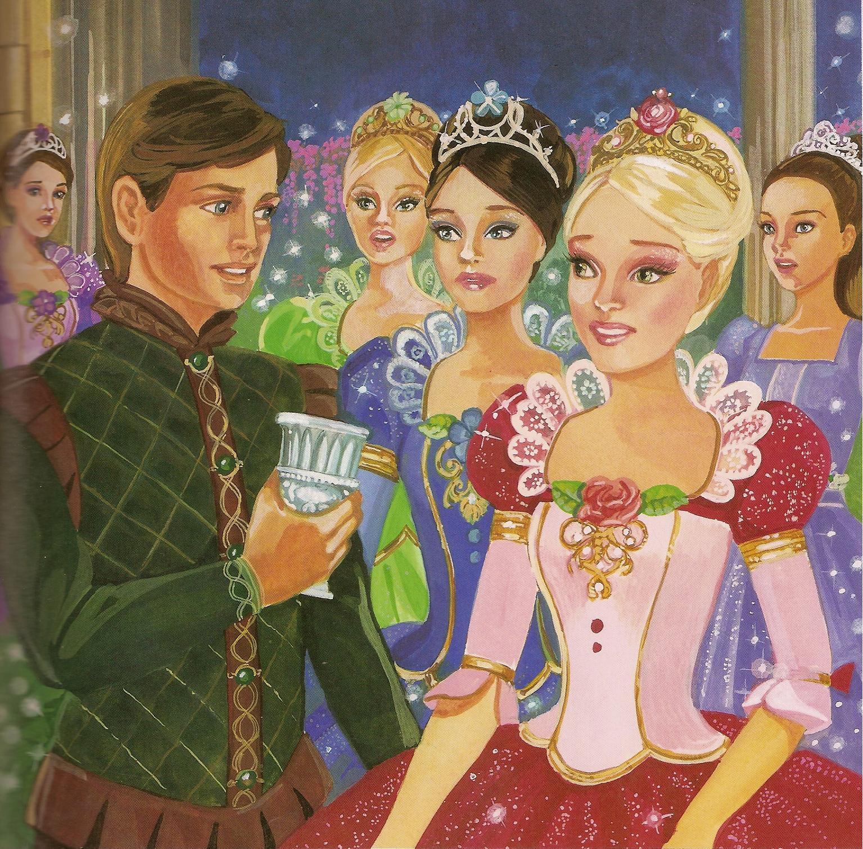 Image 12 dancing princesses barbie in the 12 dancing - Barbie 12 princesse ...