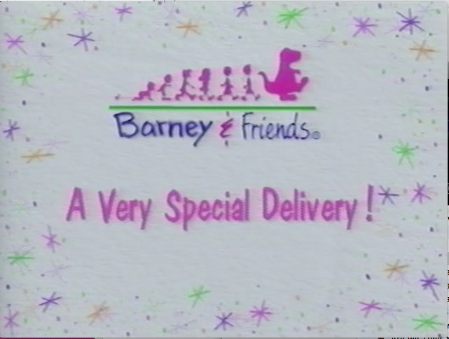 A Very Special Delivery Barney Wiki Fandom Powered By