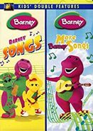 Barney Songs & More Barney Songs 2007 Double Feature DVD
