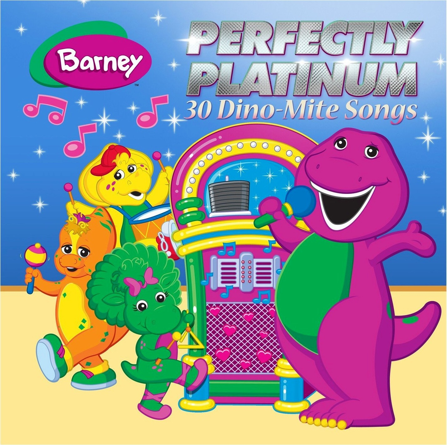perfectly platinum 30 dino mite songs barney wiki fandom