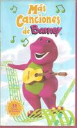 More Barney Songs spanish DVD release