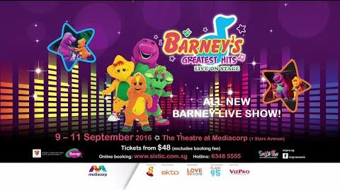 Barney's Greatest Hits Live On Stage!