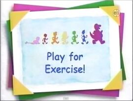 Play for Exercise!!!!!!!!