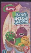 Barney's Big Surprise UK VHS release 2002