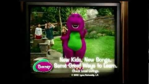 Barney The Dinosaur- TV Spot