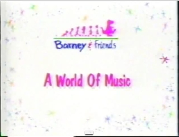 A world of music barney friends wiki fandom powered by for World house music