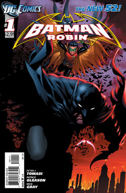 Batman and Robin Vol 2-1 Cover-1