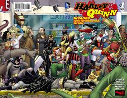 Harley Quinn Invades Comic Con International San Diego Vol 2-1 Cover-1