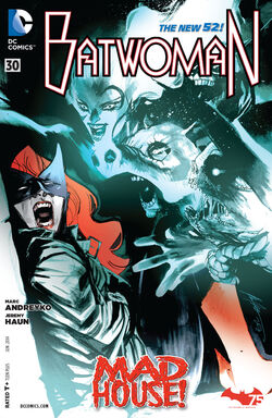 Batwoman Vol 1-30 Cover-1