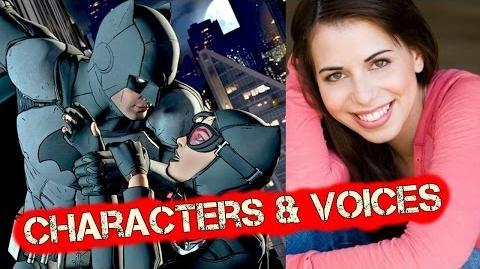 Batman The Telltale Series Voice Actors - Batman Characters Cast Cinematic Cutscenes