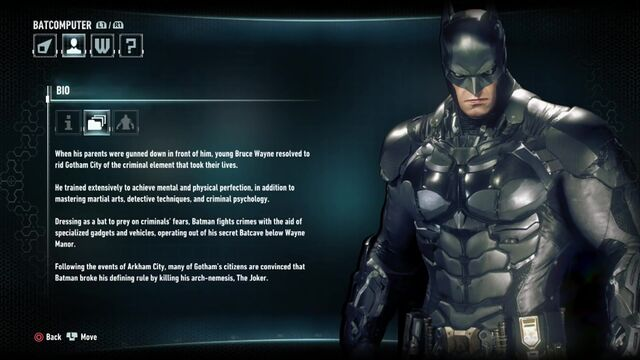 File:Batman Arkham Knight Character Bios .Batmanjpg.jpg