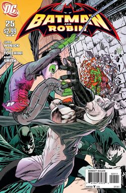 Batman and Robin-25 Cover-1