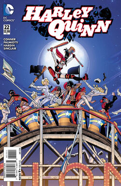 Harley Quinn Vol 2-22 Cover-1