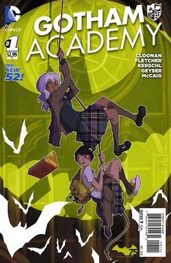 Gotham Academy Vol 1-1 Cover-1