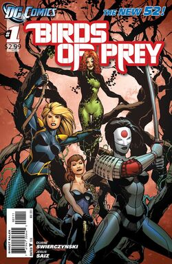 Birds of Prey Vol 3-1 Cover-1