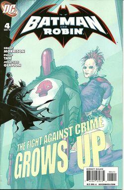 Batman and Robin-4 Cover-1