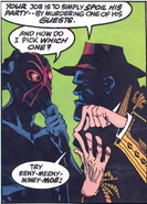 Black Mask-The Spidered Face
