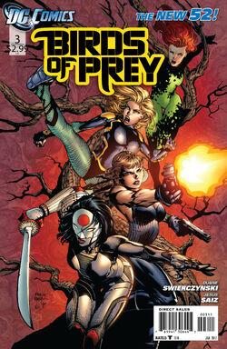 Birds of Prey Vol 3-3 Cover-1