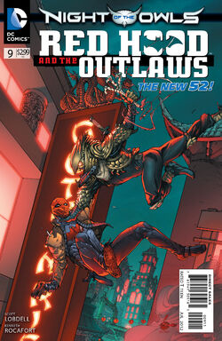 Red Hood and The Outlaws Vol 1-9 Cover-1
