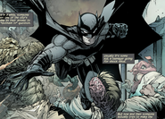 Batman-The Court of Owls, Part One Knife Trick