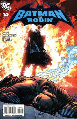 Batman and Robin-14 Cover-1
