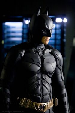 Christian Bale as The Dark Knight