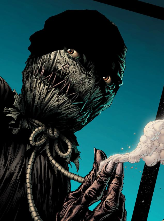 Scarecrow Batman Comics