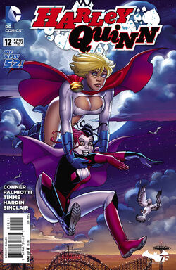 Harley Quinn Vol 2-12 Cover-1