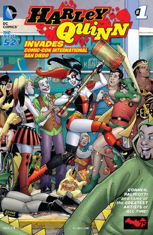 File:Harley Quinn Invades Comic Con International San Diego Vol 2-1 Cover-2.jpg