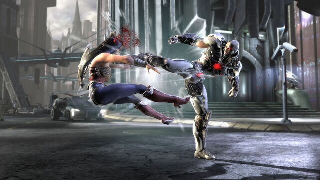 File:Wonder Woman vs. Cyborg.jpg