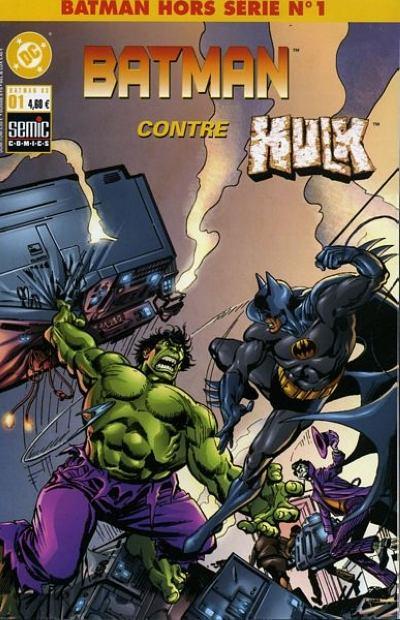 Batman contre hulk wiki batman fandom powered by wikia - Batman contre joker ...