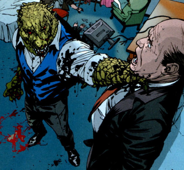 Image - Killer Croc Choke.jpg | Batman Wiki | Fandom ...