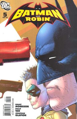 Batman and Robin-5 Cover-1