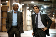 TDKR Lucius and Bruce