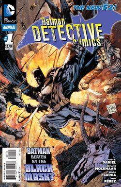 Detective Comics Annual Vol 2-1 Cover-1