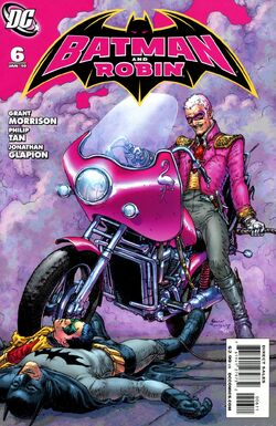 Batman and Robin-6 Cover-1