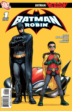 Batman and Robin-1 Cover-1