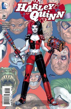 Harley Quinn Vol 2-24 Cover-1